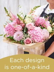 Hand-tied Bouquet £125