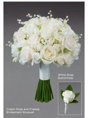 White Rose Buttonhole